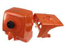 cylinder shroud and carburetor box cover fits Stihl 046...