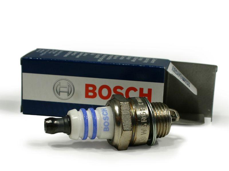 Zündkerze Bosch WSR6F für Stihl 08 08S S neue Version