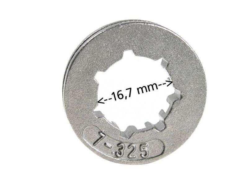 "Ringrad 325/"" 7Z für Stihl 029 MS290 MS 290 19,4mm"