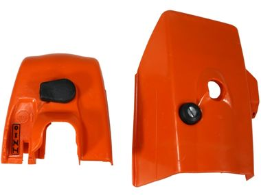 cylinder shroud and carburetor box cover fits Stihl 024 024AV AV MS240 MS 240 Super