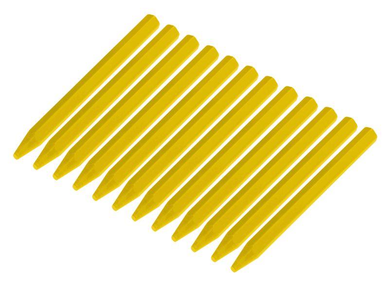 Kreide 12 Stück gelb