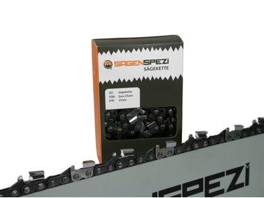 """120cm Sägenspezi Führungsschiene Solid Drive mit Rollstern 3//8/"""" 152TG 1,6mm"""