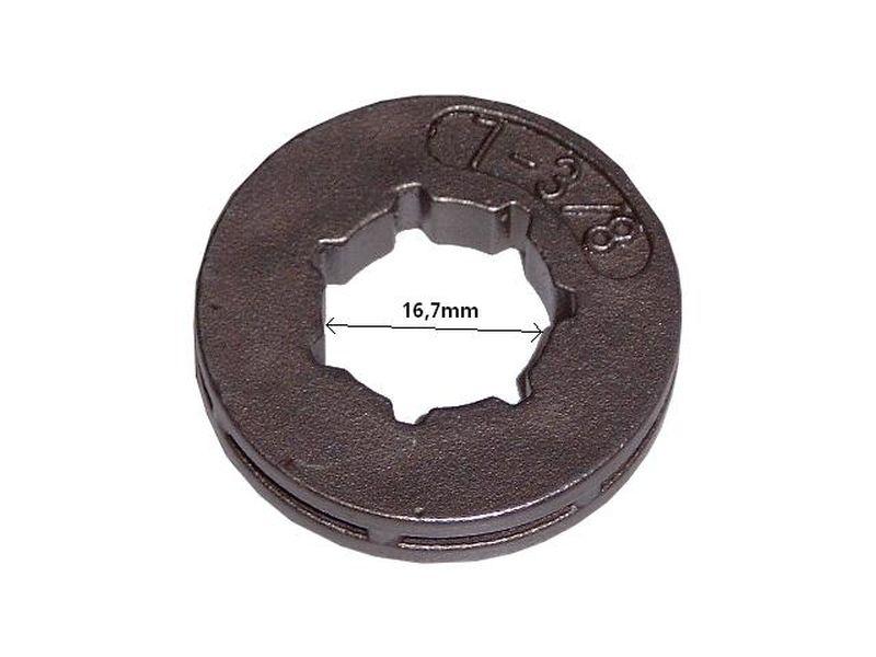 "Ringrad 3//8/"" 7Z 16,7mm passend für Stihl MS261 Ring Rim"