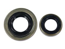 shaft sealing rings / oil seal set fits Stihl 034 AV...