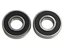 grooved ball bearings for lower poly V-belt pulley (at...