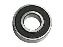 grooved ball bearing for lower poly V-belt pulley (at the...