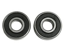 grooved ball bearings for upper poly V-belt pulley fits...