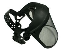face shield protection Pro (steel mesh screen)
