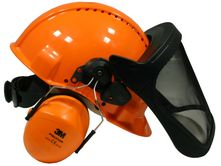 Safety Helmet Combination G3000M (ear protection and face...