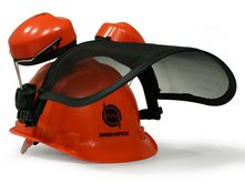 Safety Helmet Combination by Sägenspezi (ear protection...