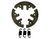 clutch shoes with 3 tension springs fits Stihl 009 010...