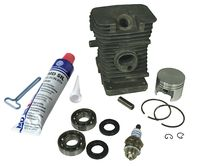 Cylinder kit fits Stihl 018 38mm with 8mm piston pin...
