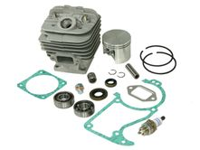 cylinder kit fits Stihl 036 MS360 48mm including gasket kit, spark plug, crankshaft bearings and piston needle cage