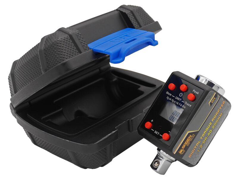 """Drehmoment /adapter 1/2"""" Zoll Digital (ersetzt Drehmomentschlüssel) Nm/kg.cm/kg.m/lb.in/lb.ft"""
