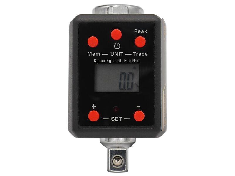 """Drehmoment /adapter 3/8"""" Zoll Digital (ersetzt Drehmomentschlüssel) Nm/kg.cm/kg.m/lb.in/lb.ft"""